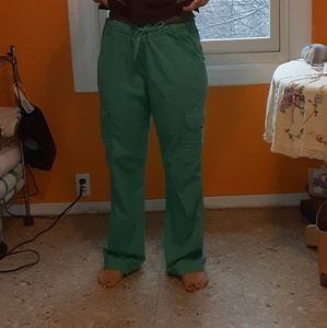 Light green scrub pants